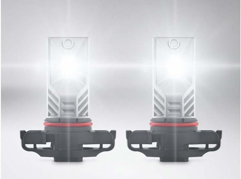 Комплект 2 броя LED лампи Osram тип PSX24W бели, 12V, 21W, PG20-7 3