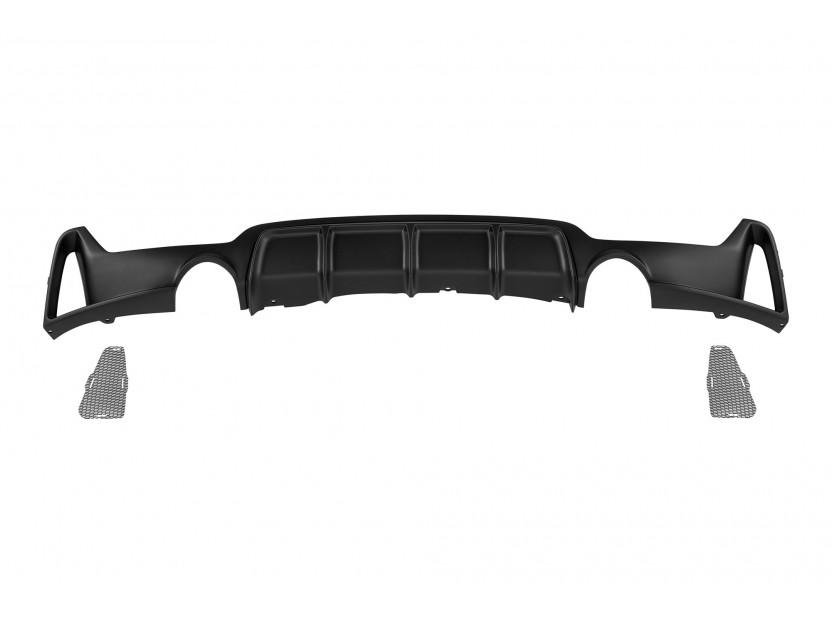 Дифузьор тип M performance за задна M броня за BMW серия 4 F32/F33/F36 435i след 2013 година -o---o-