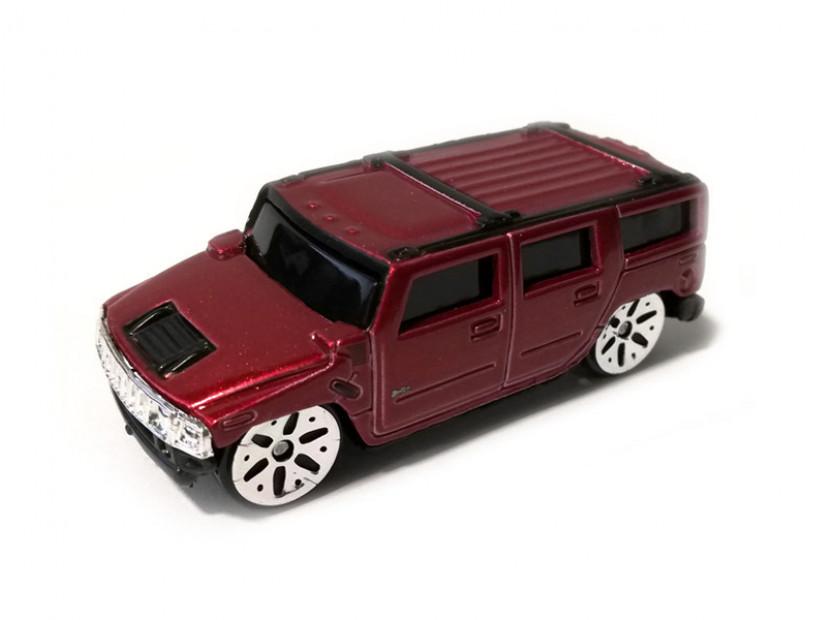 Играчка Maisto Fresh Metal червен Hummer H2 в мащаб 1:72