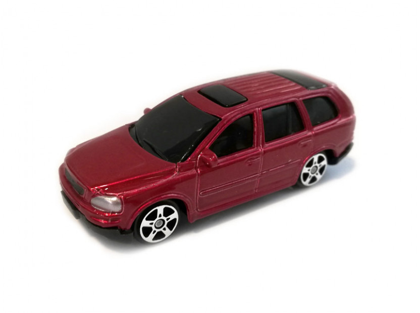 Играчка Maisto Fresh Metal червено Volvo XC90 в мащаб 1:72