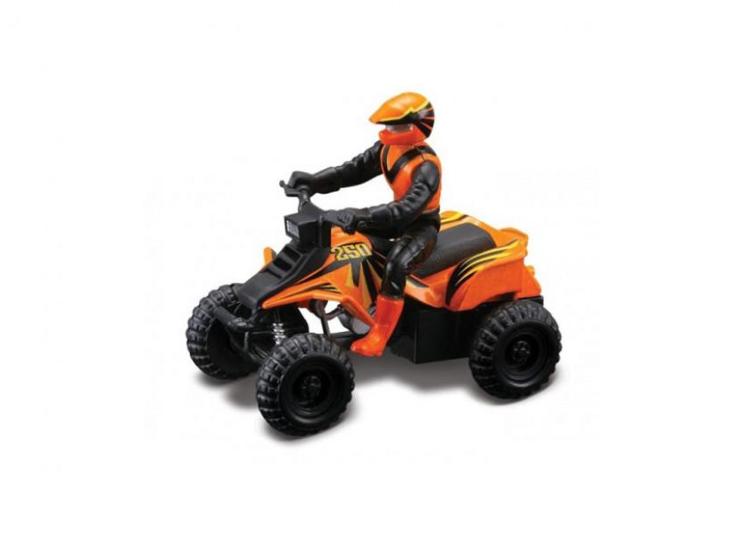 Играчка Maisto Fresh ATV оранжев с моторист