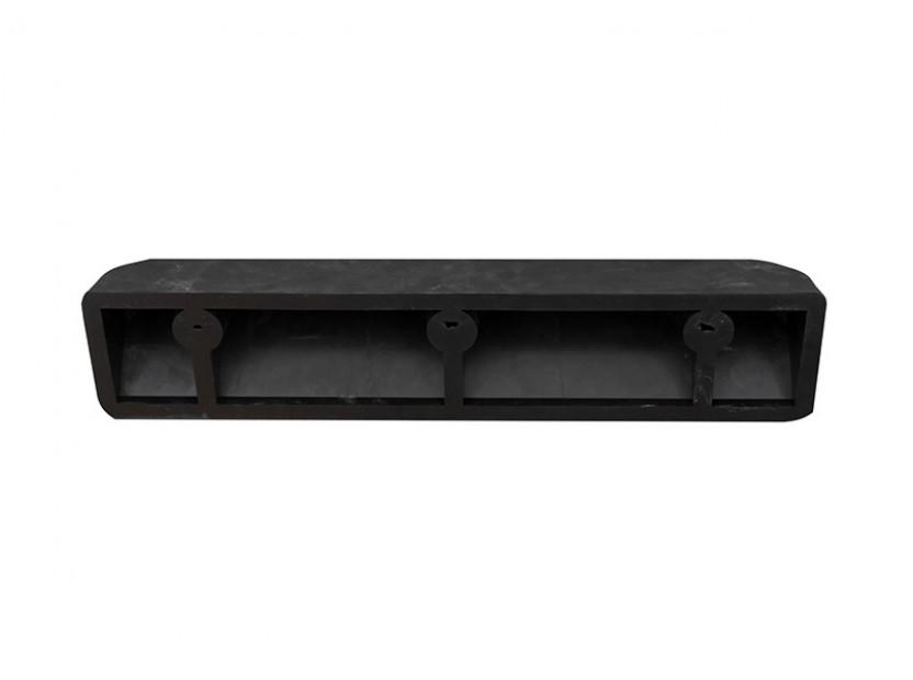 Гумен стопер Petex за паркиране 55х15х10см със светлоотразителна лента 3
