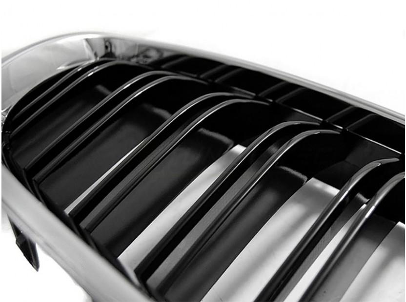Бъбреци хром/черен гланц тип M5 за BMW F10, F11 2010-2016 3