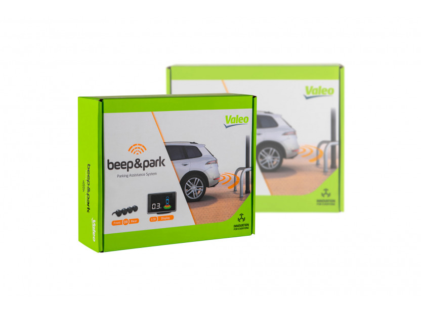 Парктроник система Valeo Beep&Park™ с индикационен дисплей с 4 черни датчика