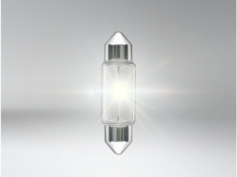Халогенна крушка Osram C10W Original 12V, 10W, SV8.5-8, 42 мм, 1 брой 2