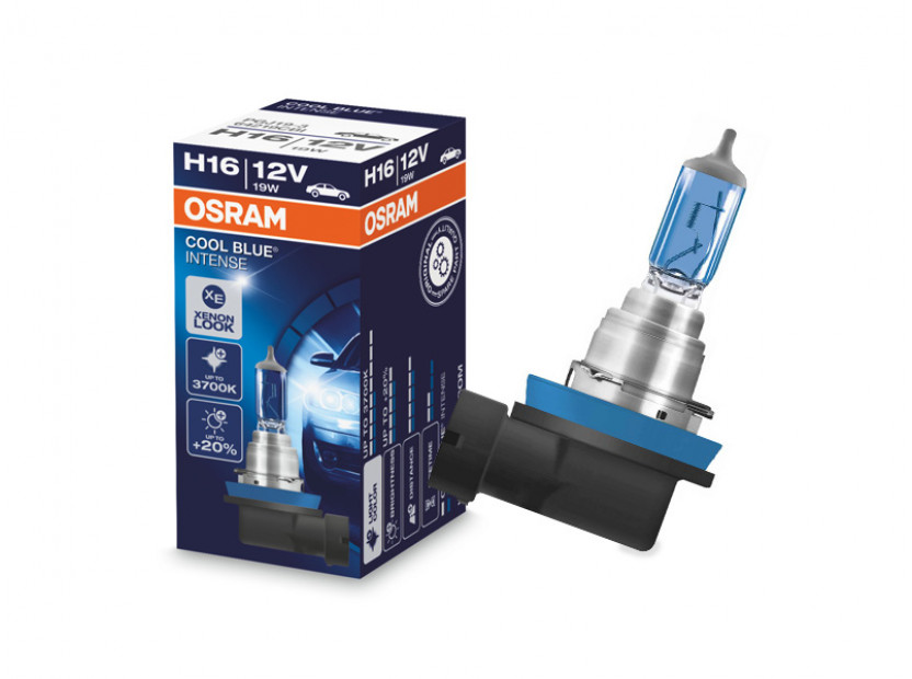 Халогенна крушка Osram H16 Cool Blue Intense 12V, 19W, PGJ19-3, 1 брой