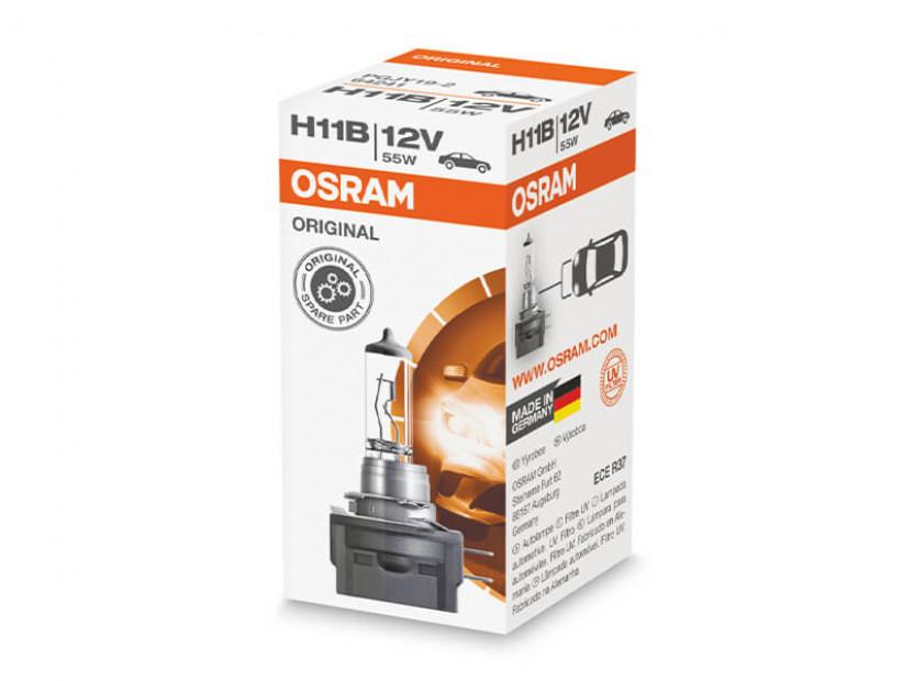 Халогенна крушка Osram H11B Original 12V, 55W, PGJ19-2, 1 брой