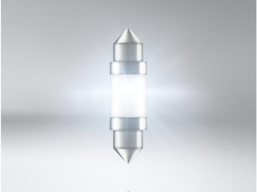 LED лампа Osram тип C5W 36мм., студено бяла, 6000K, 12V, 1W, SV8.5-8, 1 брой 3