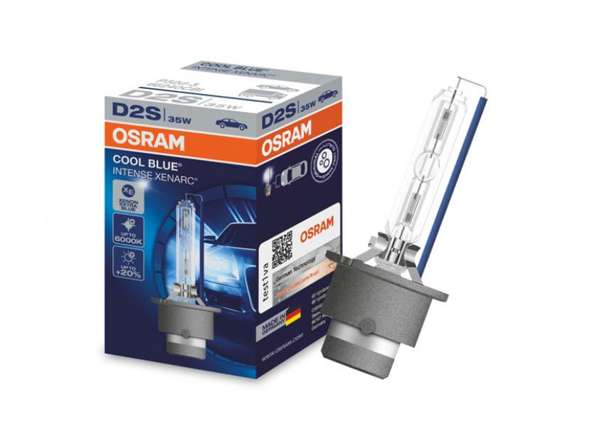 Ксенонова лампа Osram D2S Cool Blue Intense 85V, 35W, P32d-2 1бр.