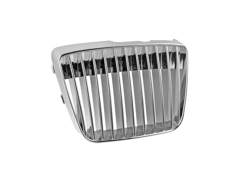 Хром решетка без емблема за Seat Ibiza/Vario 1999-2002 2
