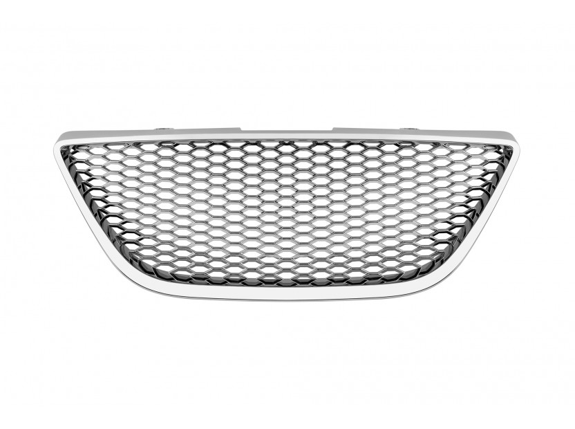 Хром решетка без емблема за Seat Ibiza 2008 =>