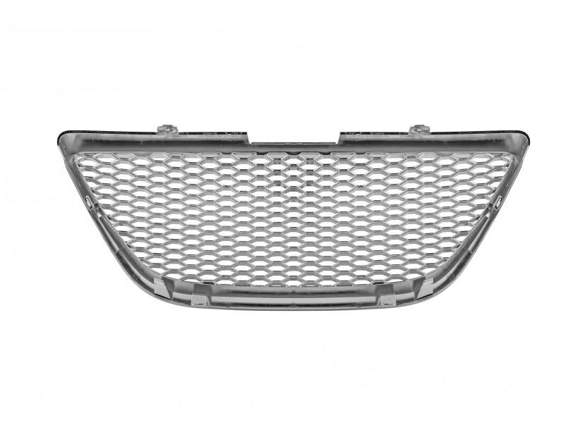 Хром решетка без емблема за Seat Ibiza 2008 => 3