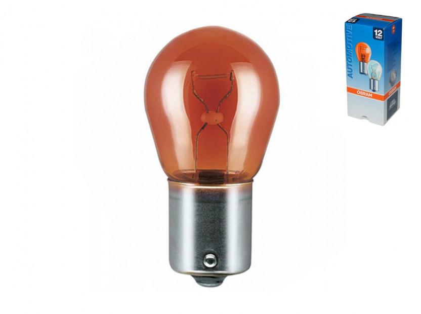 Халогенна крушка Osram PY21W Original 12V, 21W, BAU15s, 1 брой