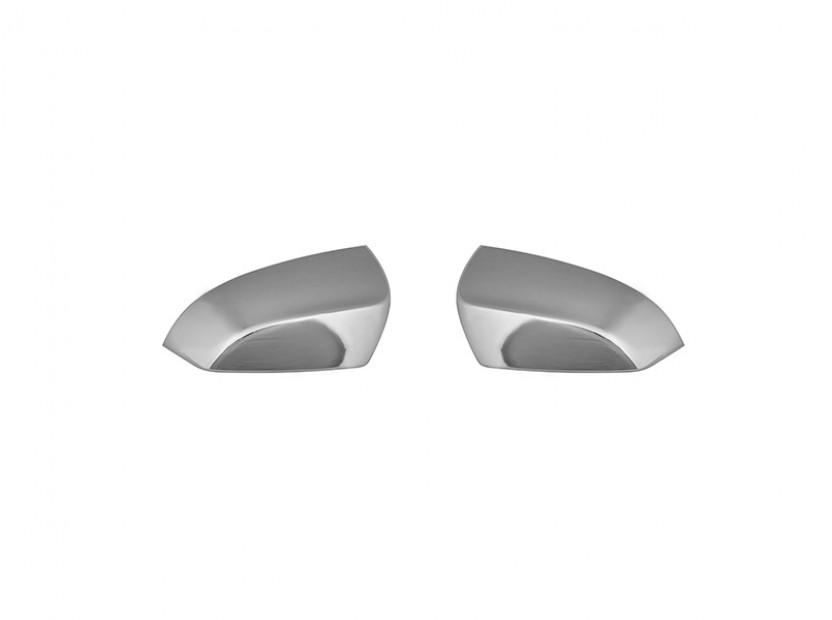 Хром капаци за огледала за BMW серия 5 F10/F11 2010=>