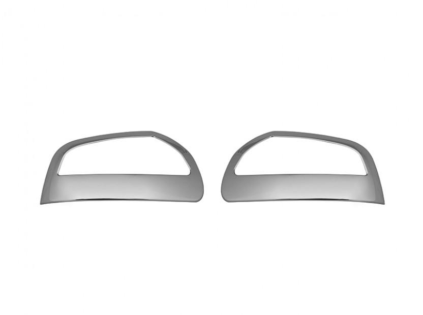 Хром капаци за огледала за Mercedes ML W164 2008-2010