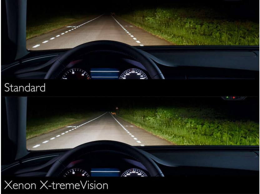 Ксенонова лампа Philips D2S X-Treme Vision 85V, 35W, P32D-2 1бр. 4