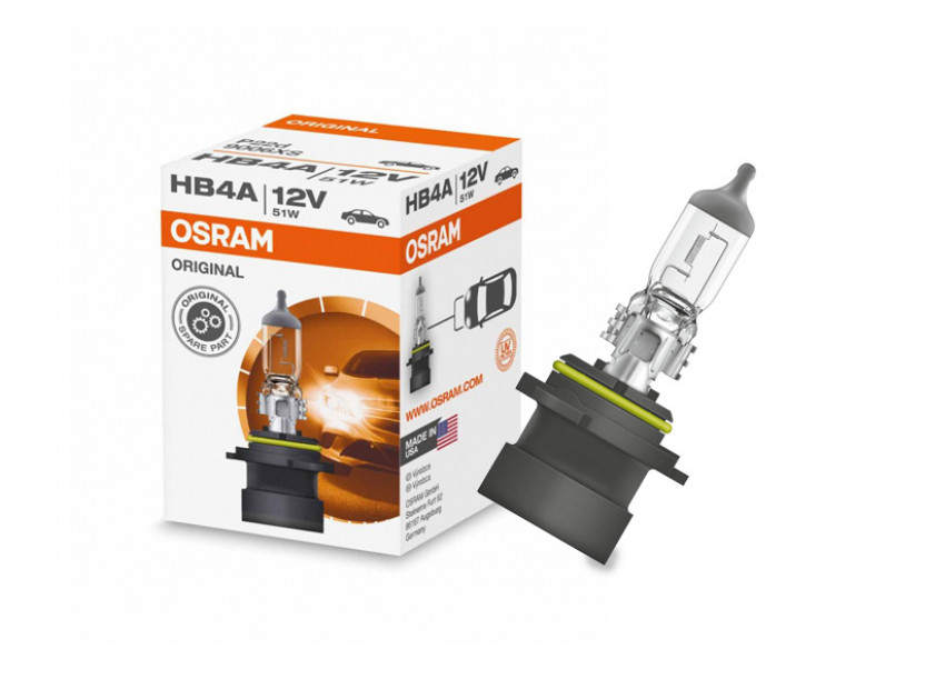 Халогенна крушка Osram HB4 Original 12V, 51W, P22d права, 1 брой