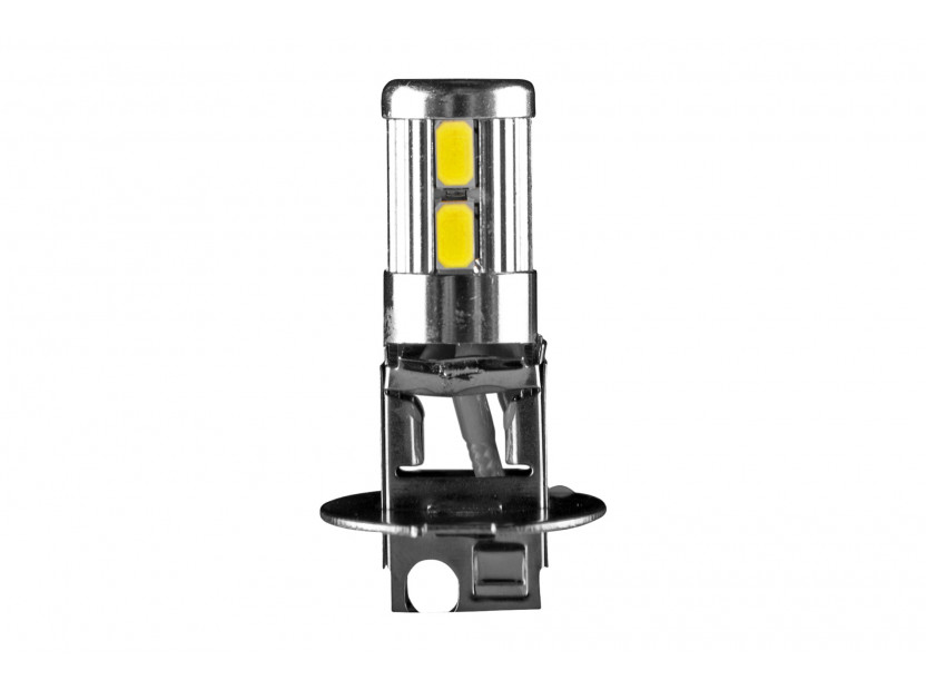LED лампа AutoPro H3 студено бяла, 12V, 5W, PK22s, 1брой 2