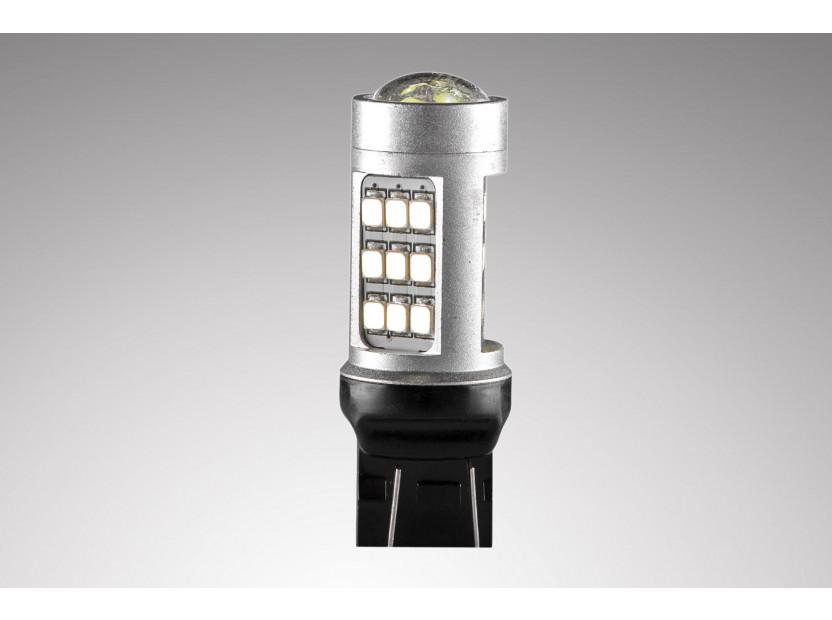 LED лампа AutoPro W21/5W студено бяла, 12V, 10W, W3x16q, 1 брой 3