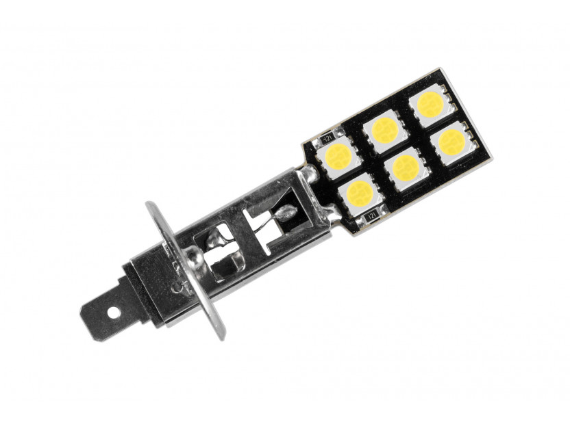 LED лампа AutoPro H1 студено бяла, 12V, 5W, P14.5s, 1брой 2