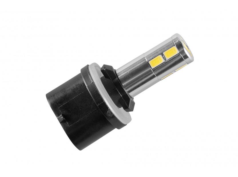 LED лампа AutoPro Н27 (880) студено бяла, 12V, 5W, PG13, 1брой 2