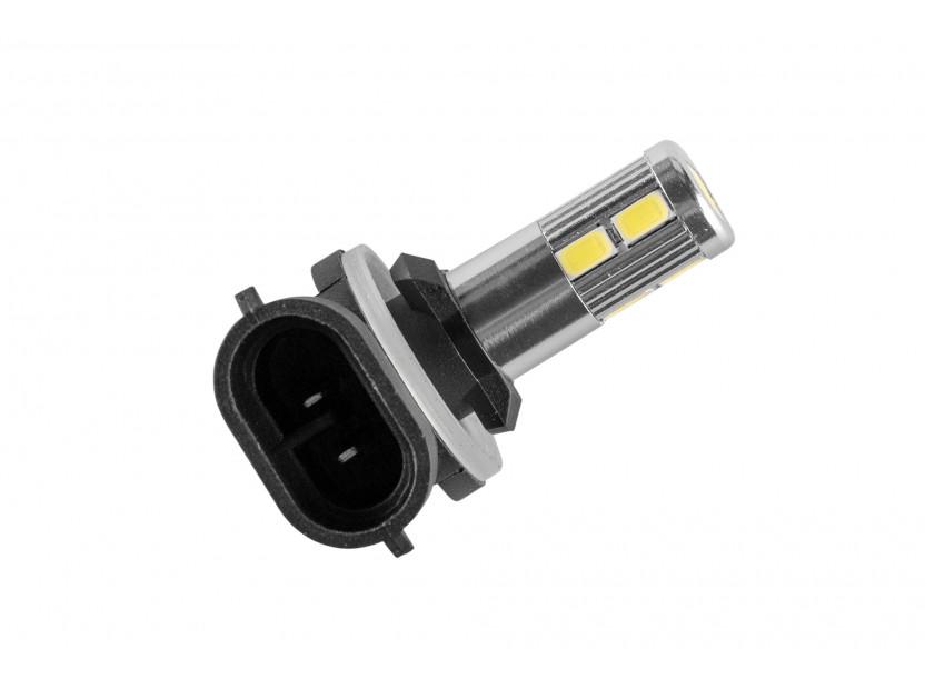 LED лампа AutoPro Н27 (881) студено бяла, 12V, 5W, PGJ13, 1брой 2