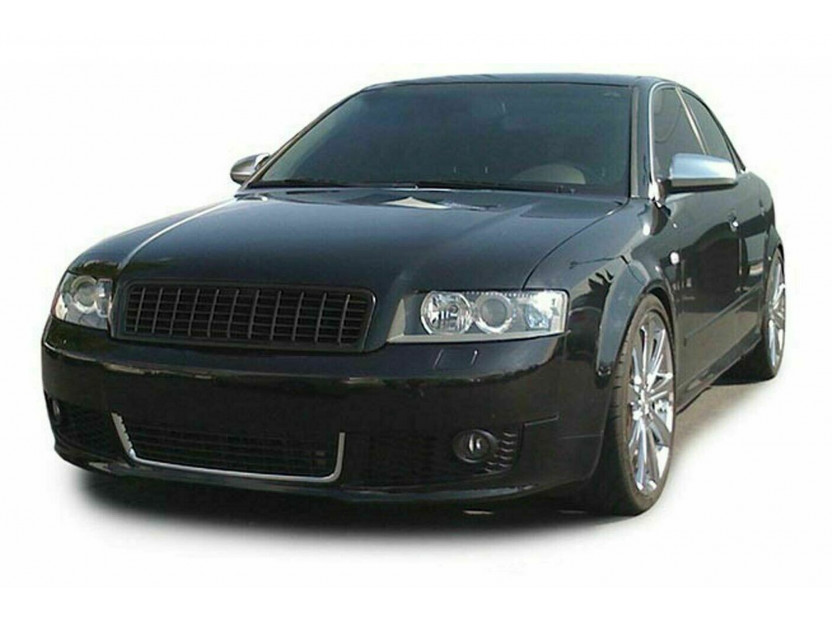 Черна решетка без емблема за Audi A4 B6 седан, комби 2000-2004 4