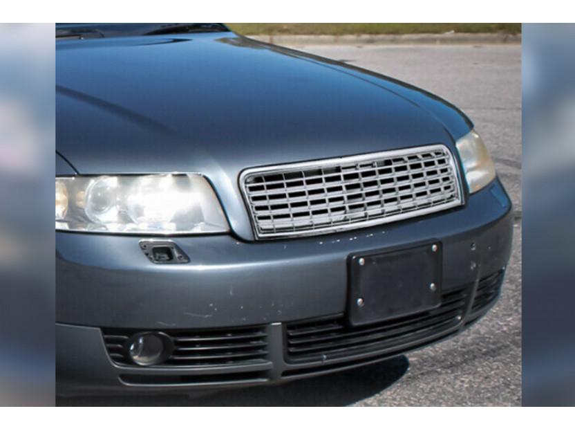 Хром решетка без емблема за Audi A4 B6 седан, комби 2000-2004 3