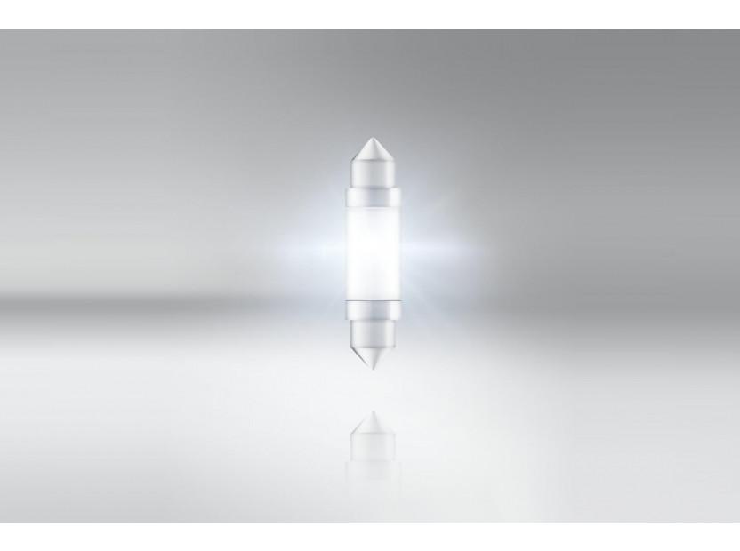 LED лампа Osram тип C5W 41mm., студено бяла 6000K, 12V, 25LM, 0.60W, SV8.5-8, 1 брой 3