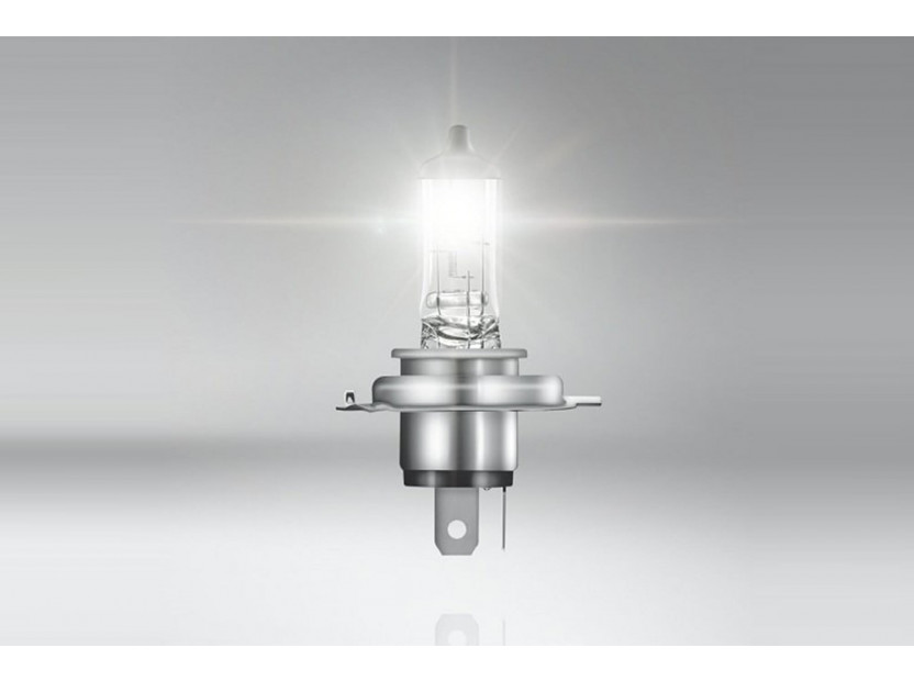Халогенна крушка Osram H4 Super 12V, 60/55W, P43t, 1 брой 2