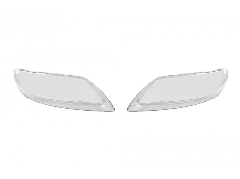 Комплект стъкла за фарове на Audi Q7 2005-2015, ляво и дясно