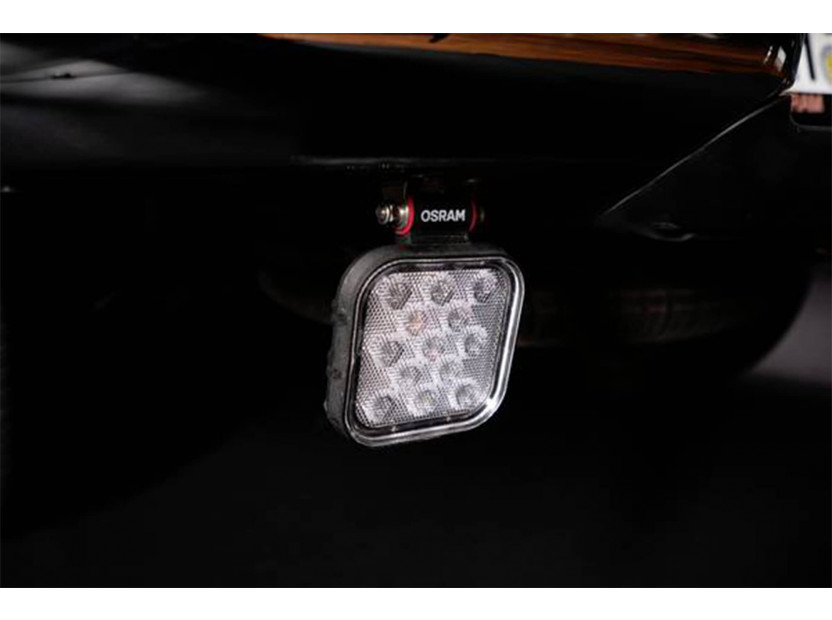 Квадратен LED бар Osram за задна светлина, 2700K, 1100LM,  15W, 12/24V, IP69K, E-mark E9 7