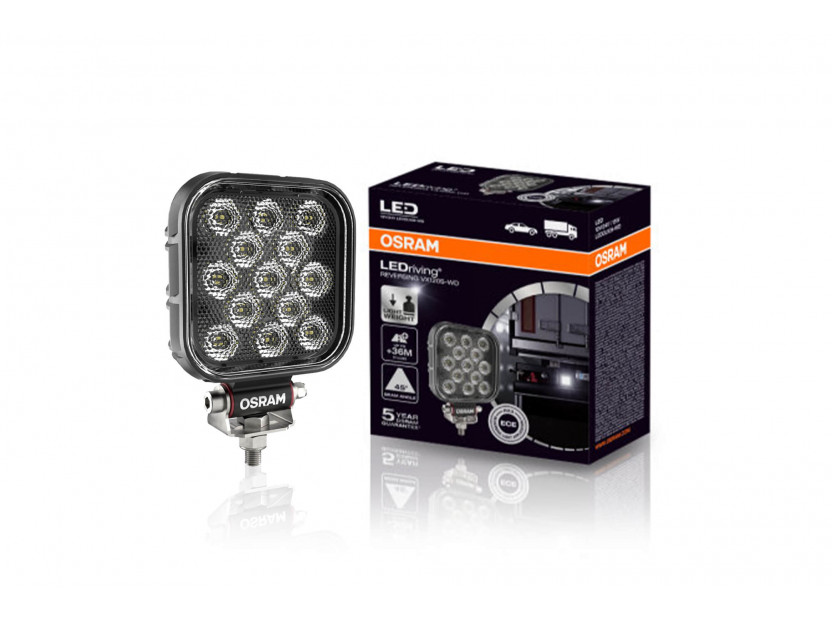 Квадратен LED бар Osram за задна светлина, 2700K, 1100LM,  15W, 12/24V, IP69K, E-mark E9