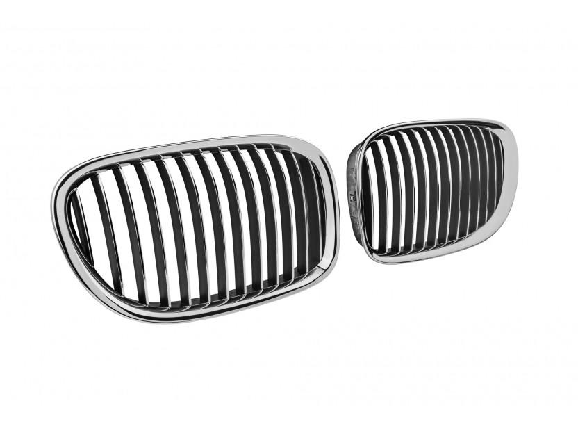 Бъбреци хром за BMW серия 7 F01 къса база, F02 дълга база 2008-2015 2