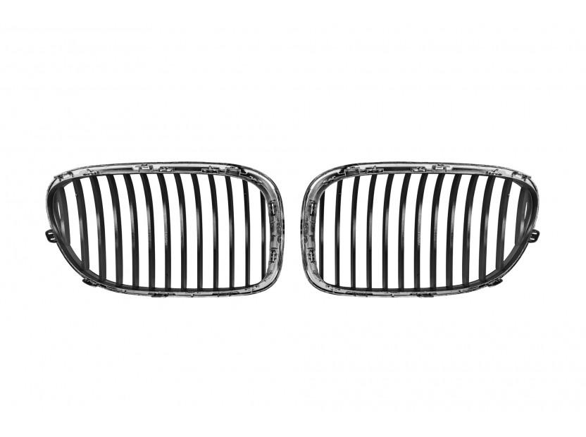 Бъбреци хром за BMW серия 7 F01 къса база, F02 дълга база 2008-2015 3