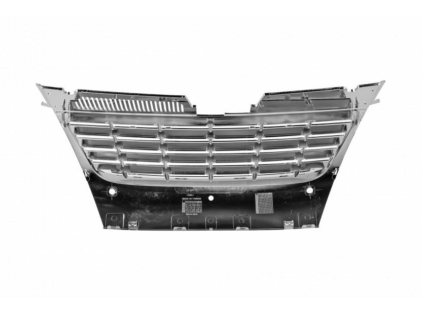 Хром решетка без емблема за VW Passat 2005-2010 с отвори за парктроник 3