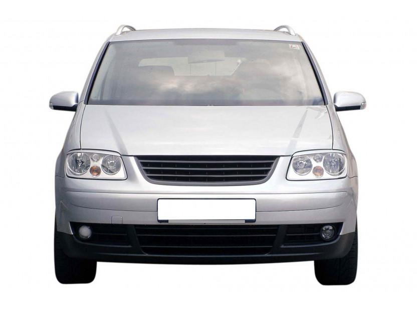 Черна решетка без емблема за VW Touran 2003-2006 4