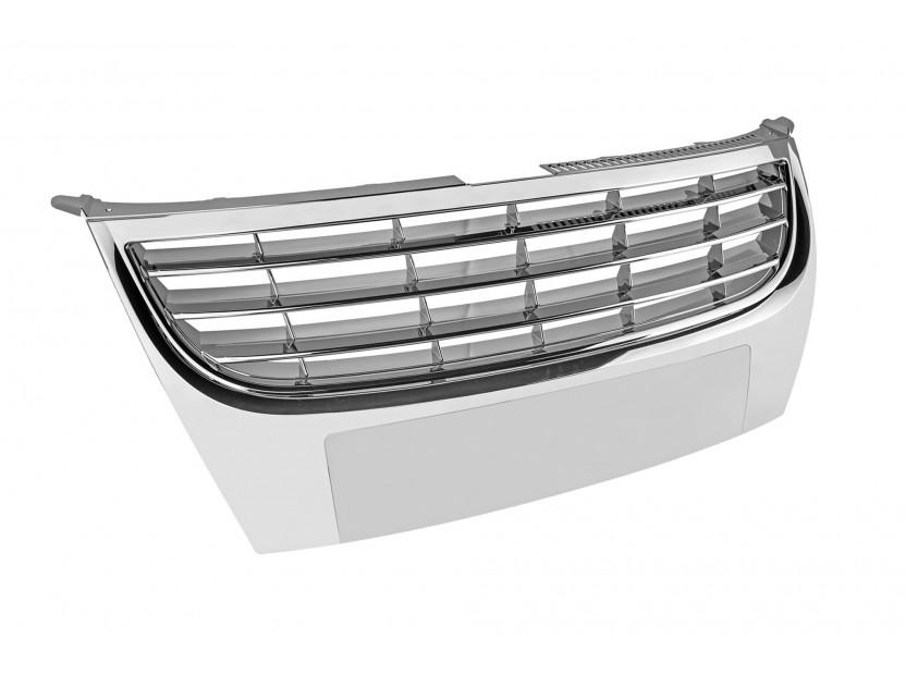 Хром/черна решетка без емблема за VW Touran 2006-2010 2