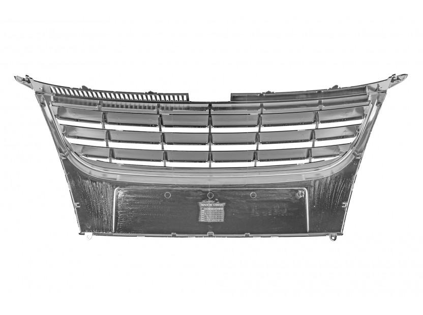 Хром/черна решетка без емблема за VW Touran 2006-2010 3