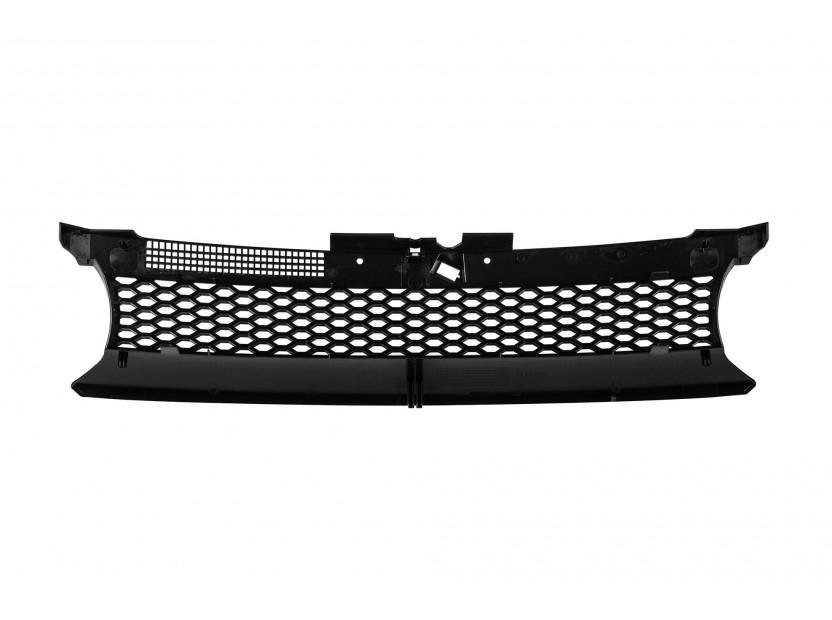 Черна решетка без емблема тип пчелна пита за VW Golf IV 1997-2003 3
