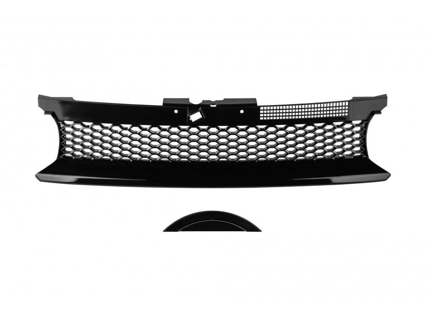 Черна решетка без емблема тип пчелна пита за VW Golf IV 1997-2003