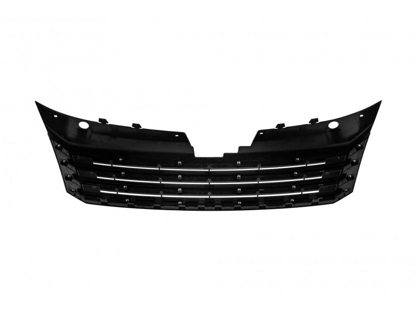 Черна решетка без емблема за VW Passat 2010-2014 3