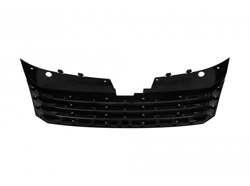Хром/черна решетка без емблема за VW Passat 2010-2014 3