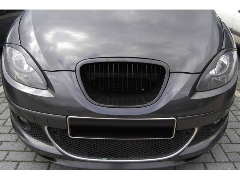 Черна решетка без емблема за Seat Leon 2004-2009 4