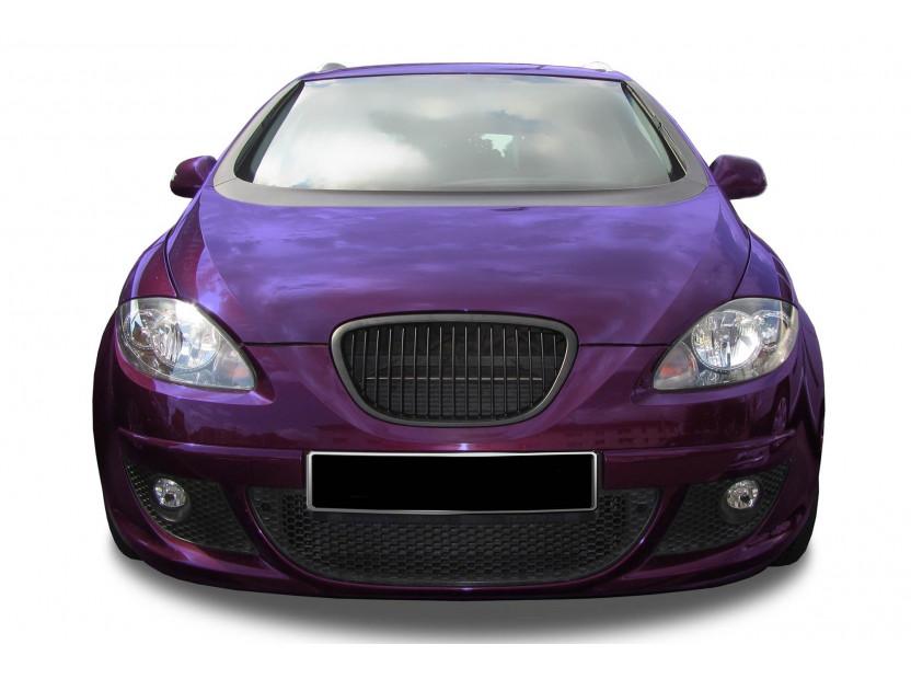 Черна решетка без емблема за Seat Leon 2004-2009 5