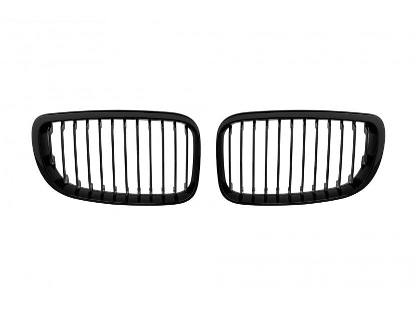 Бъбреци черен лак за BMW серия 1 E81/E82/E87/E88 2007-2013