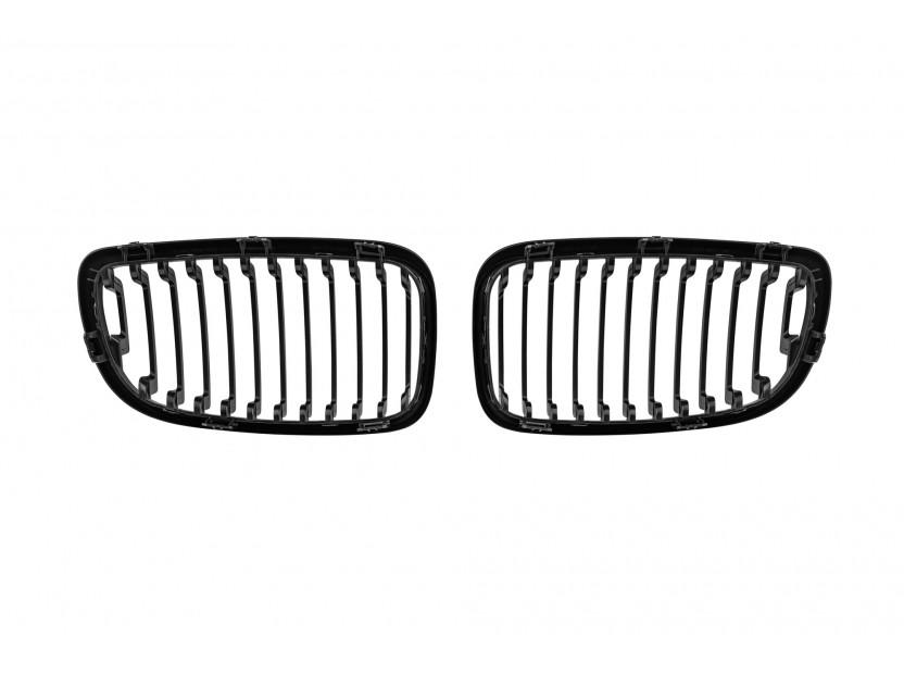 Бъбреци черен лак за BMW серия 1 E81/E82/E87/E88 2007-2013 3