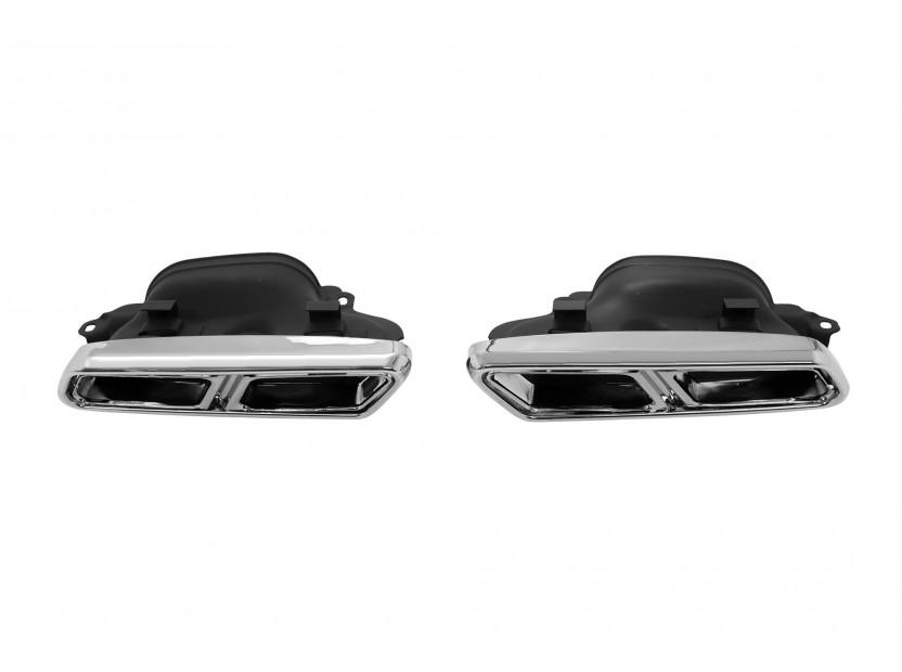 Дифузьор с накрайници AMG тип S65 за Mercedes S класа W222 след 2013 година 3