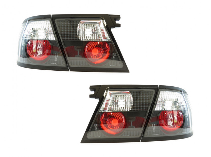 Комплект тунинг стопове за Nissan Primera P11, W11 1996-1999 5 врати с черна основа, ляв и десен