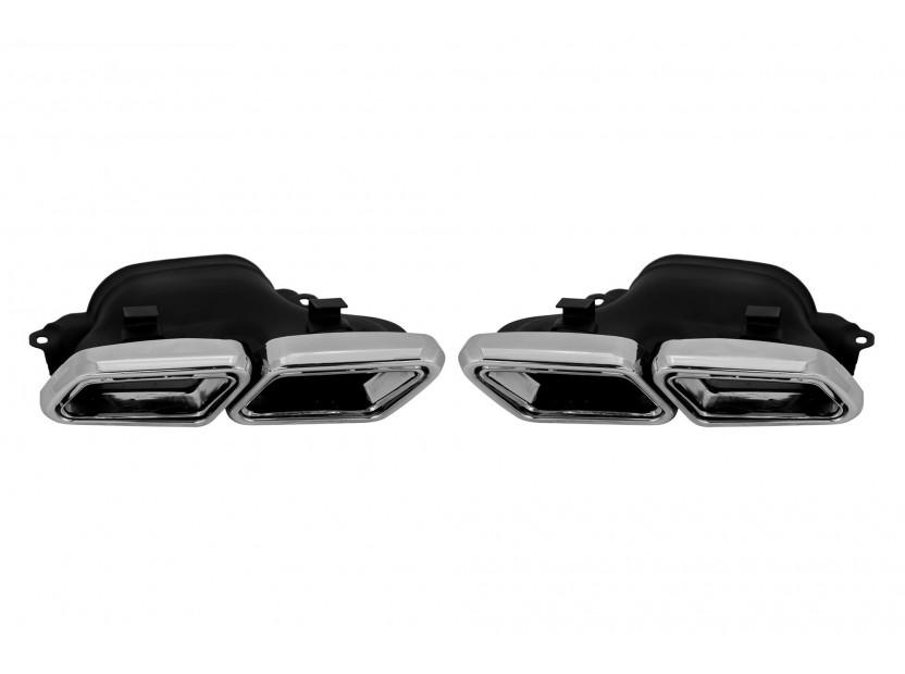 Дифузьор с накрайници AMG тип S63 за Mercedes S класа W222 след 2013 година 10